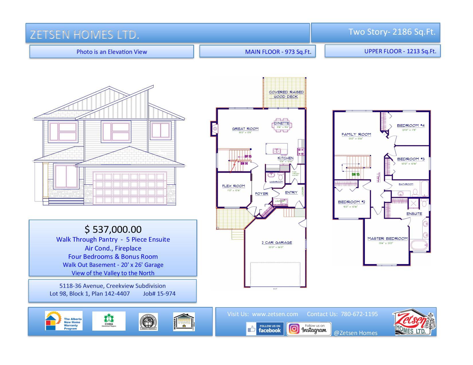 Ground & Floor Plan
